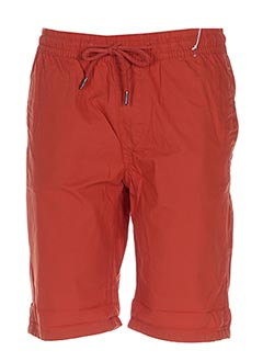 Bermuda orange CROSSBY pour homme