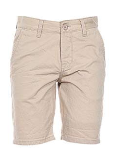 Bermuda beige CROSSBY pour homme