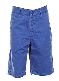 Bermuda bleu CROSSBY pour homme