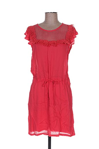 Robe courte rouge ANDY & LUCY pour femme
