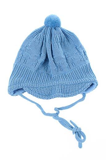 Bonnet bleu MAXIMO pour garçon