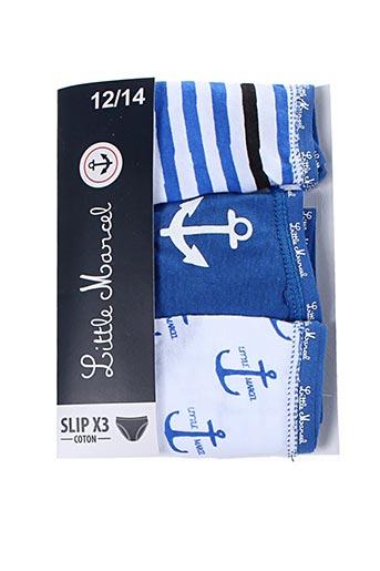 Slip/Culotte bleu LITTLE MARCEL pour fille