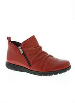 chaussures pedro torres rouge bottines