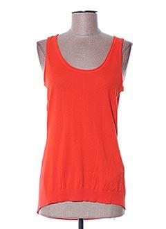 Débardeur orange GUESS pour femme
