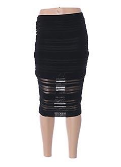 Jupe mi-longue noir GUESS BY MARCIANO pour femme