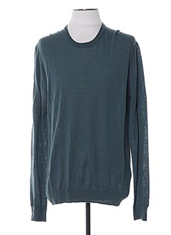 Pull col rond vert CERRUTI 1881 pour homme