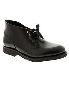 Bottines/Boots bleu CERRUTI 1881 pour homme