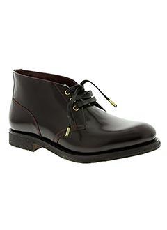 Bottines/Boots rouge CERRUTI 1881 pour homme