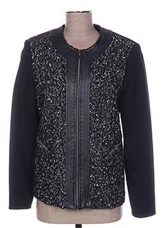 Veste casual noir MULTIPLES pour femme