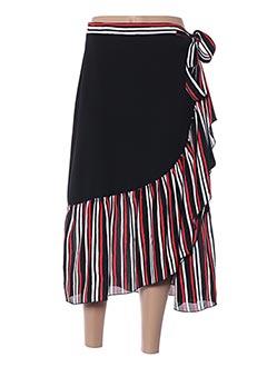 Jupe longue noir MULTIPLES pour femme