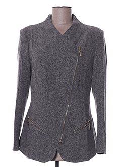 Veste chic / Blazer gris MULTIPLES pour femme