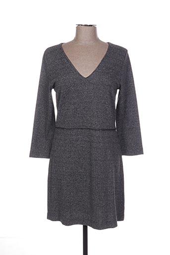 Robe courte gris ESE O ESE pour femme