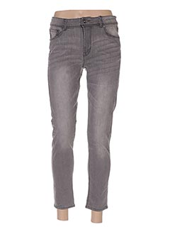Jeans skinny gris FIFTY pour femme