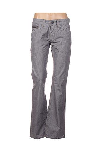 Pantalon casual gris FREESOUL pour femme