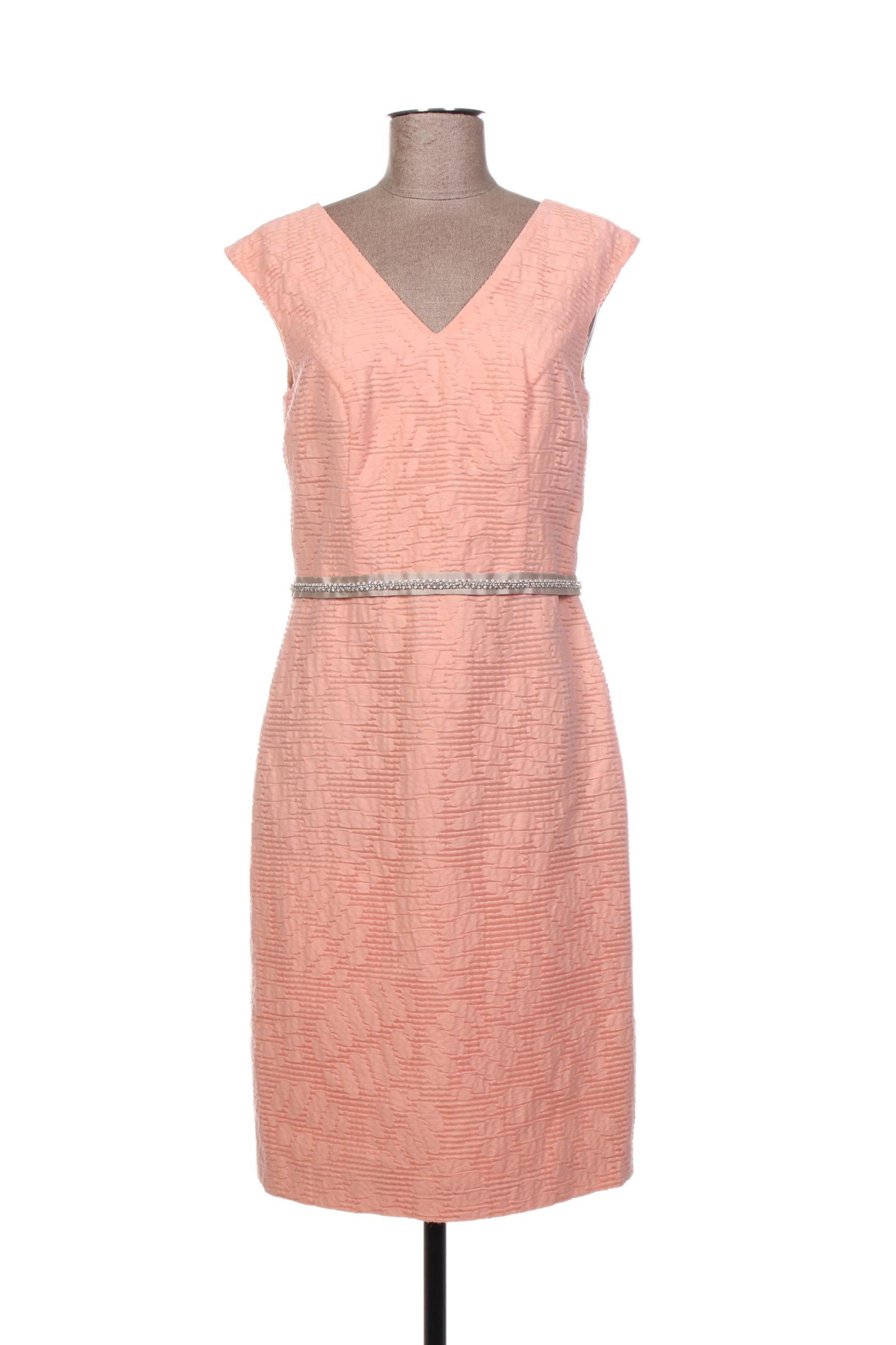 Robe mi-longue femme Linea Raffaelli rose taille : 42 198 FR (FR)