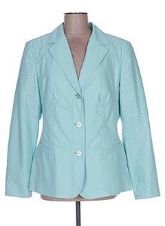 Veste casual bleu KIRSTEN pour femme