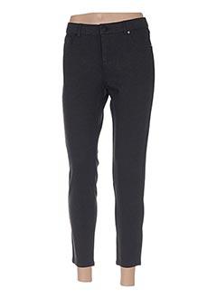 Pantalon 7/8 gris LCDN pour femme
