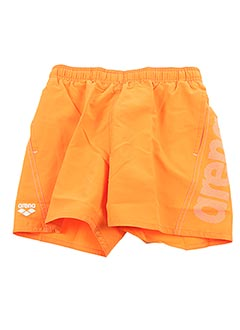Short orange ARENA pour garçon