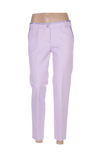 Pantalon 7/8 violet ACCESS FASHION pour femme