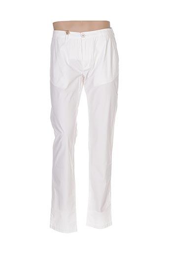 Pantalon casual blanc MCS pour homme