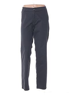 Pantalon casual gris MALOKA pour femme