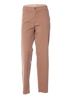 Pantalon casual marron MALOKA pour femme