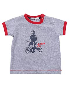 T-shirt manches courtes gris ABSORBA pour garçon
