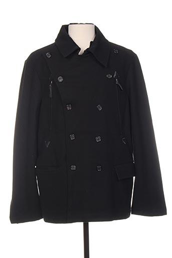Manteau court noir EMPORIUM pour homme