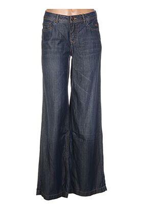 Pantalon casual bleu EXPRESSO pour femme