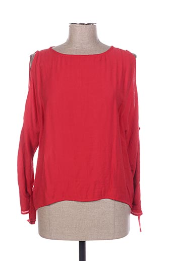 T-shirt manches longues rouge COP COPINE pour femme