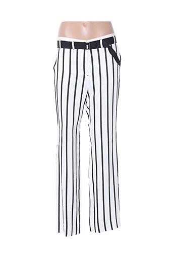Pantalon casual blanc COP COPINE pour femme