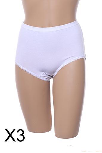 Culotte gainante blanc BONNETERIE CREUSOISE pour femme