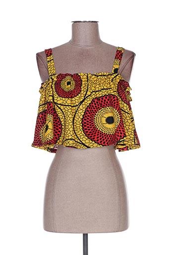 Top jaune VINTAGE DRESSING pour femme