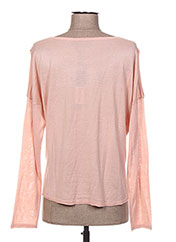 Pull col rond rose BECKARO pour fille seconde vue