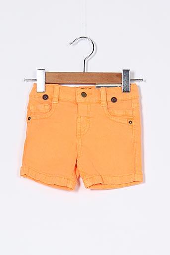 Short orange MAYORAL pour garçon