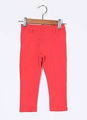 Pantalon casual rouge BOBOLI pour enfant seconde vue