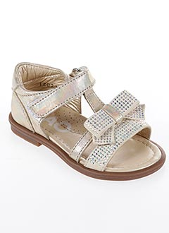 Sandales/Nu pieds jaune CIAO pour fille
