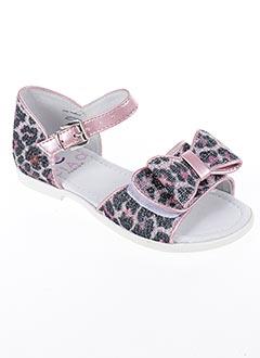 Sandales/Nu pieds rose CIAO pour fille