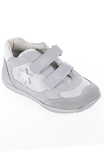 Baskets gris CIAO pour fille