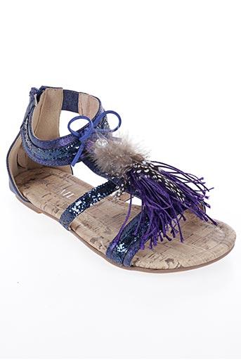 Sandales/Nu pieds bleu COC'TAIL pour fille