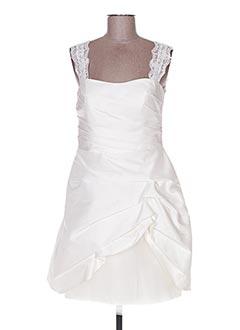 Robe de mariée blanc LINEA RAFFAELLI pour femme