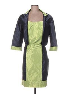 Veste/robe bleu OLIVIER SINIC pour femme