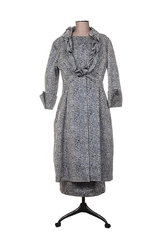 Veste/robe bleu FELY CAMPO pour femme