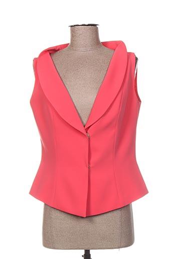 Veste chic / Blazer rose FELY CAMPO pour femme