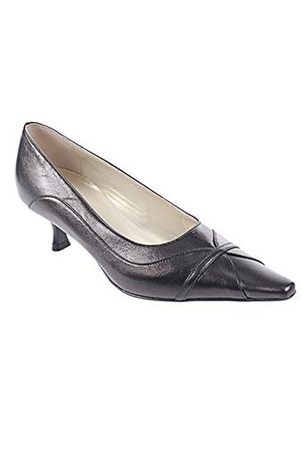LINEA RAFFAELLI Chaussures Escarpins de couleur marron en soldes pas cher 1393958 marron Modz