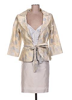 Veste/jupe beige LINEA RAFFAELLI pour femme