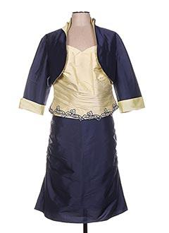 Veste/jupe bleu LINEA RAFFAELLI pour femme