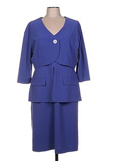 Veste/robe bleu HUG AN' CO pour femme