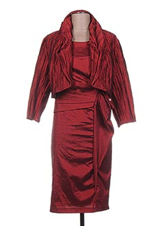 Veste/robe marron FRANK LYMAN pour femme
