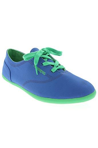 Baskets bleu HAVAIANAS pour femme